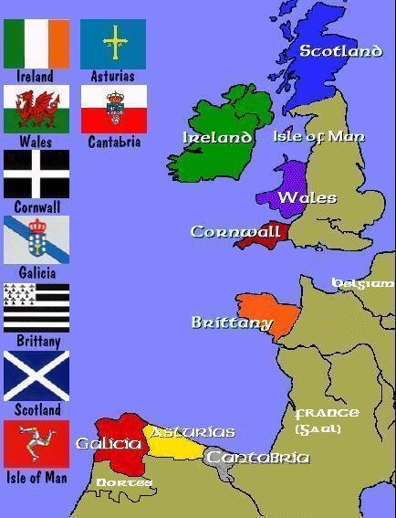 Celtic countries