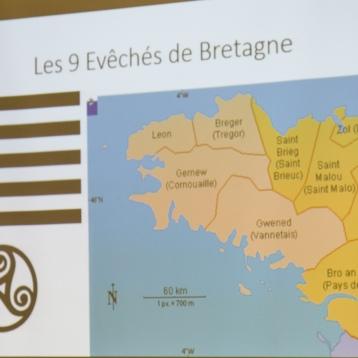 Les 9 eveches de Bretagne